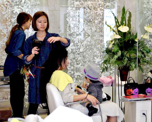 子連れで美容室に行ける「ママトコタイム」★プロの保育士が子供をみてくれ安心!!
