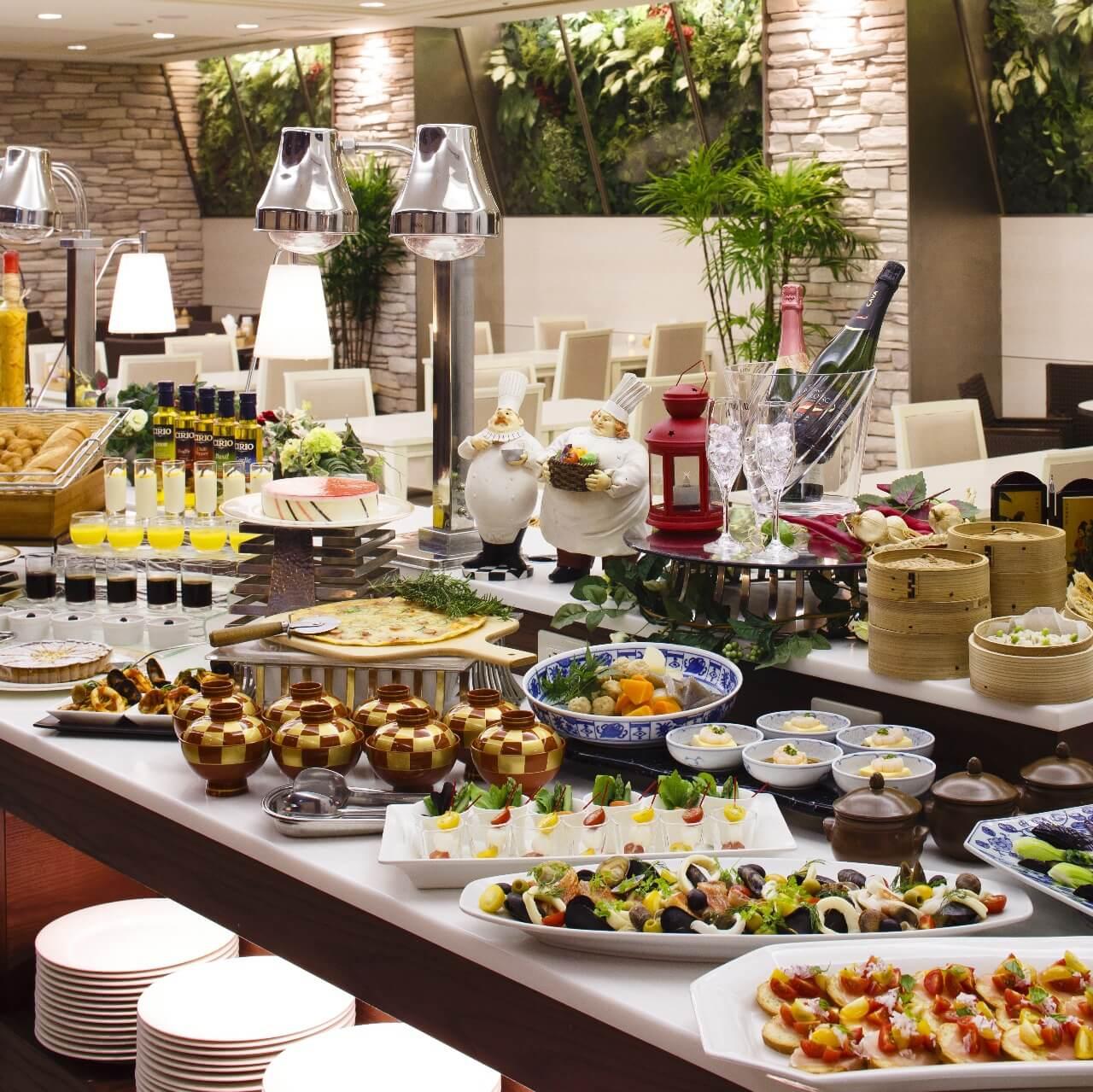 新横浜グレイスホテル レストラン ローザ